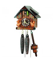 World's Smallest Mech. Cuckoo Clock